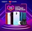 Lazada Mid-Year 7.7 x OPPO