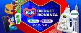 Lazada 8.8: Budget Bonanza