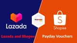Lazada and Shopee Payday Vouchers