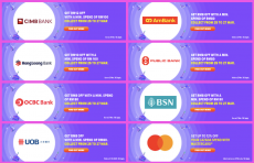 LAZADA Birthday x Major Banks Promo Codes