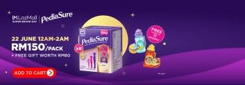 Lazada x PediaSure Super Brand Day