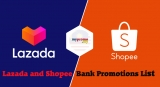 Lazada and Shopee x Bank Promotions List for January 2021