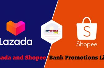 Lazada and Shopee x Bank Promotions List for April 2021