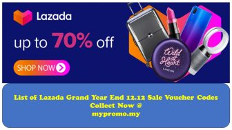 List of Lazada Grand Year End 12.12 Sale Voucher Codes: Collect Now!