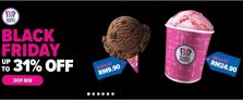 Lazada Promo: Baskin Robbins Black Friday Up To 31% OFF Plus 5% Off Voucher