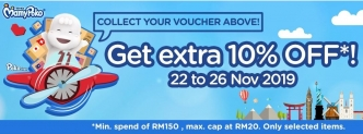 Lazada Big Baby Fair Promo with MamyPoko (Get Extra 10% OFF)