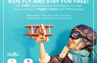 Malaysia Airlines: FREE seats and accommodation for your kids!