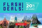 MAS Airlines: 20% Off All Seats