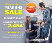 Malaysia Airlines Year End Sale: Australia and New Zealand