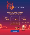 Malaysia Airlines: Journey home this Chinese New Year with fixed fares