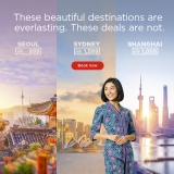Malaysia Airlines: From MYR999 – Deals you can't say no to