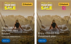 Malaysia Airlines Year End Sale Maybank Special