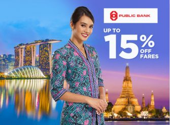 MAS Airlines: Exclusive for Public Bank cardholders