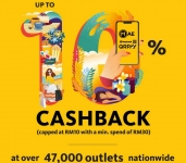 Get 10% cashback with QRPay & MAE!