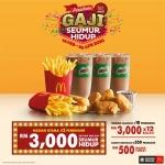 McDonald's: Makan dan Menang Gaji Seumur Hidup