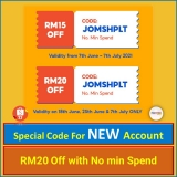 Shopee 7.7 New User/Account Voucher Code