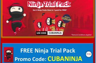 Exclusive Offer: Get FREE Ninja Trial Pack with Code CUBANINJA