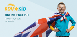 Novakid: Online English classes for kids 4-12 years old