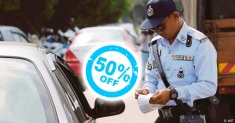 PDRM offers 50% discount on traffic summonses from Jan 18