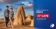 MAS Airlines Promo to Perth
