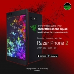 RazerPay is giving out 4 Phones