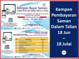 PDRM Tawar Diskaun Saman Trafik 50% 18 Jun – 18 Julai