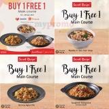 Secret Recipe Buy 1 Free 1 voucher on Lazada and Shopee