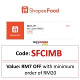 ShopeeFood x Cimb Vouchers