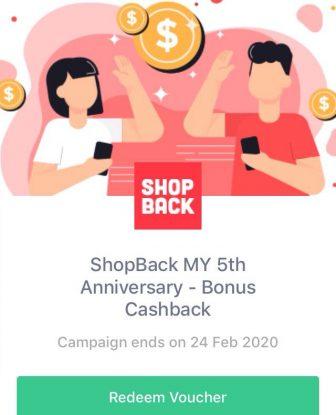 ShopBack: Get up to RM222 Cashback