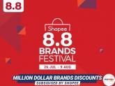 Shopee 8.8 Brands Festival Sale
