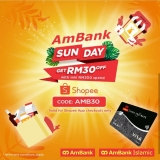 AmBank x Shopee Sunday Promotion