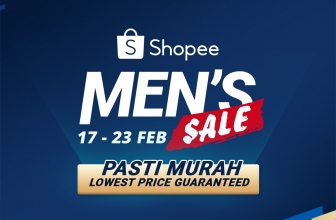 Shopee: Men's Sale Promotions