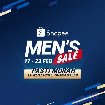 Shopee: Men's Sale Promotions