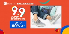 Shopee 9.9 Super Shopping Day: Skechers