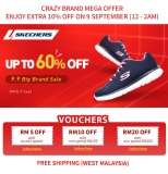 Lazada 9.9 Big Brand Sale:  Skechers