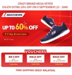 Lazada 9.9 Big Brand Sale:  Skechers