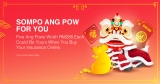 Berjaya Sompo Insurance: Win 5 X Ang Pows Worth RM288 Each