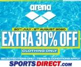 SportsDirect.com: ARENA SALE- EXTRA 30% OFF