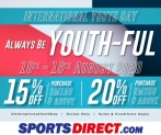 Sports Direct (MY): INTERNATIONAL YOUTH DAY