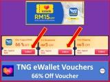 Lazada 6.6 Shopmania: TNG 66% Off Voucher