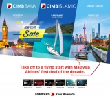 Malaysia  Airlines : Take up to 38% OFF to a flying start with CIMB Credit Card