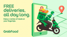 Grabfood Promotion: Free Delivery