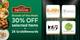 Grabfood x 30% off Grab Signatures's Brand Of The Week