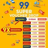 Shopee 9.9 Super Voucher Drop