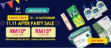 Watsons: 3 Days Only, 11.11 After Party Sale