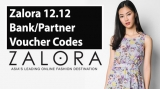 Zalora 12.12: Bank and Partner Voucher Codes